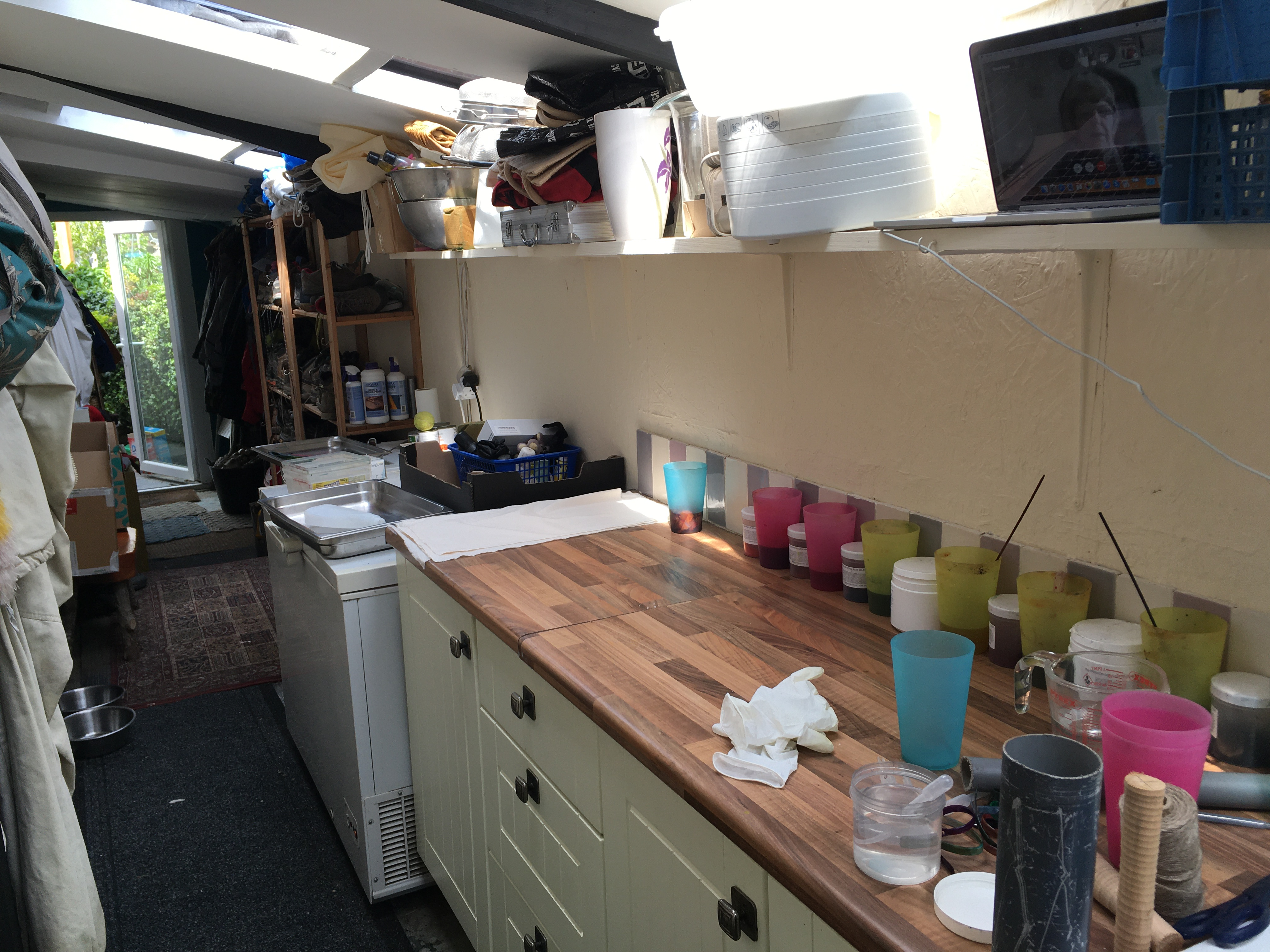 kitchen workspace