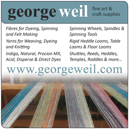 George Weil, Weaving, Spinning and Dyeing Supplies
