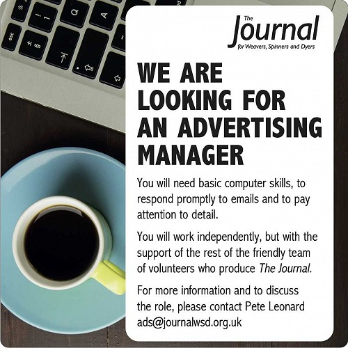 Ad for Journal Advertising Manager