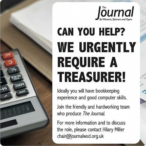 Ad for Journal Tresurer