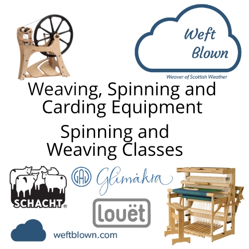 Weaving, Spinning and Carding equipment and classes