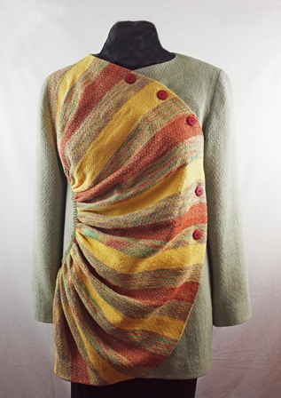 Sunburst Jacket - Cotton, linen, rayon